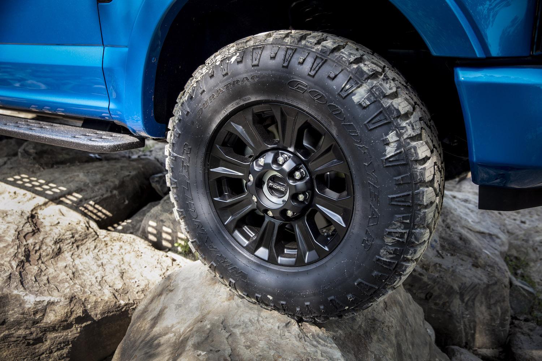 ford tremor edition wheel closeup
