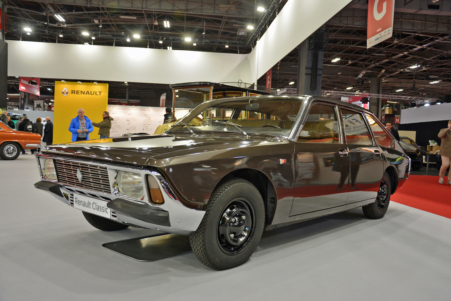 1967 Renault Project H front three-quarter