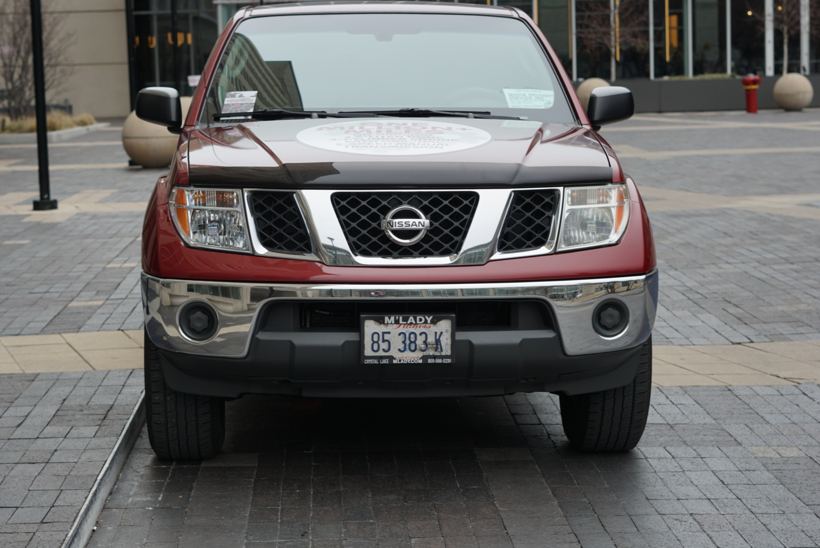 Million-mile 2007 Nissan Frontier