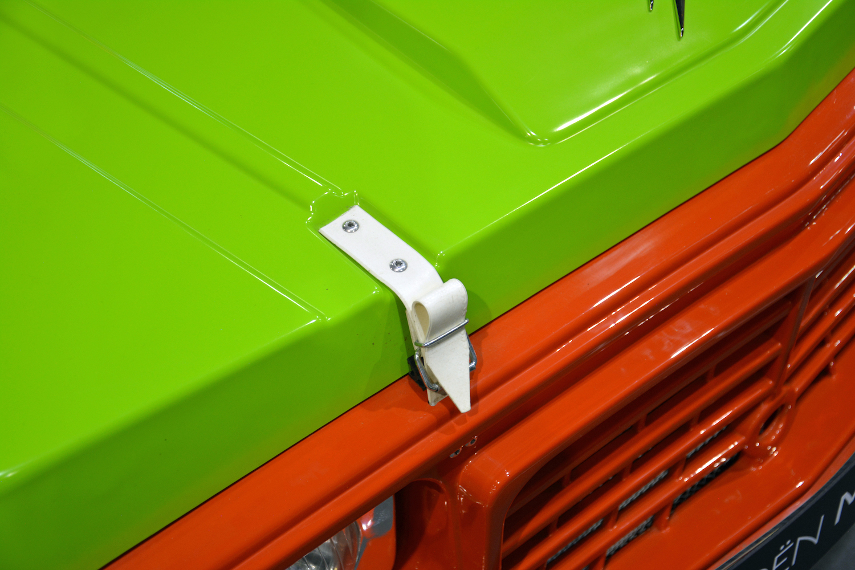 hood latch closeup