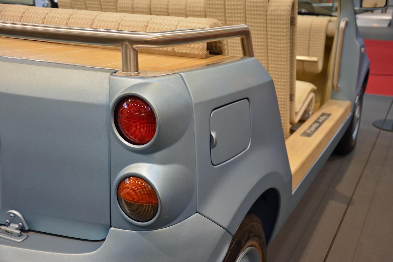 rear taillight closeup