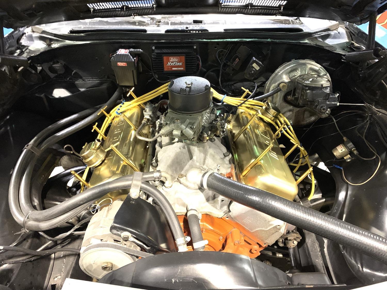 LeMans Blue SS 396 engine