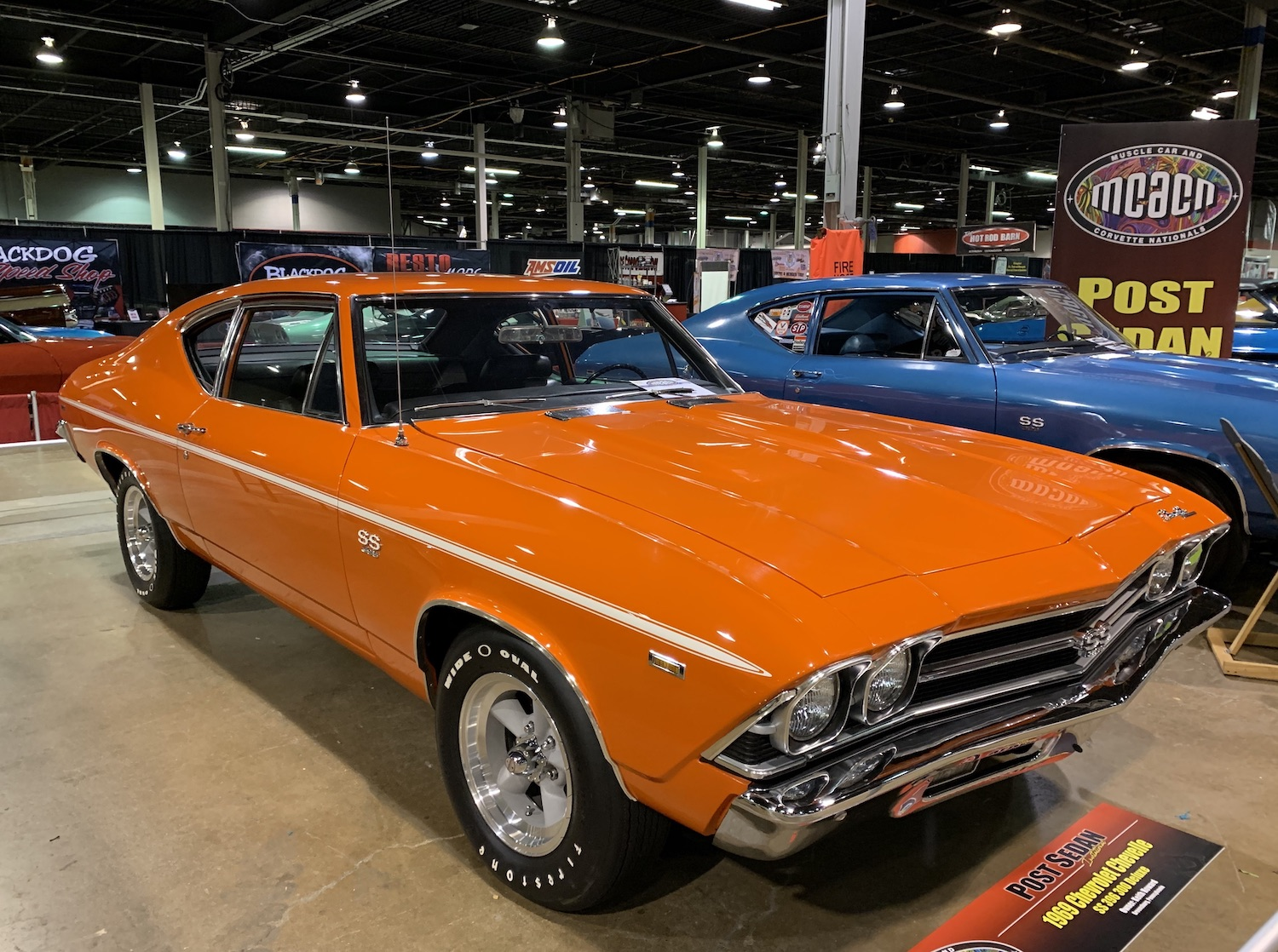 Chevelle 300 Deluxe SS 396 front three-quarter