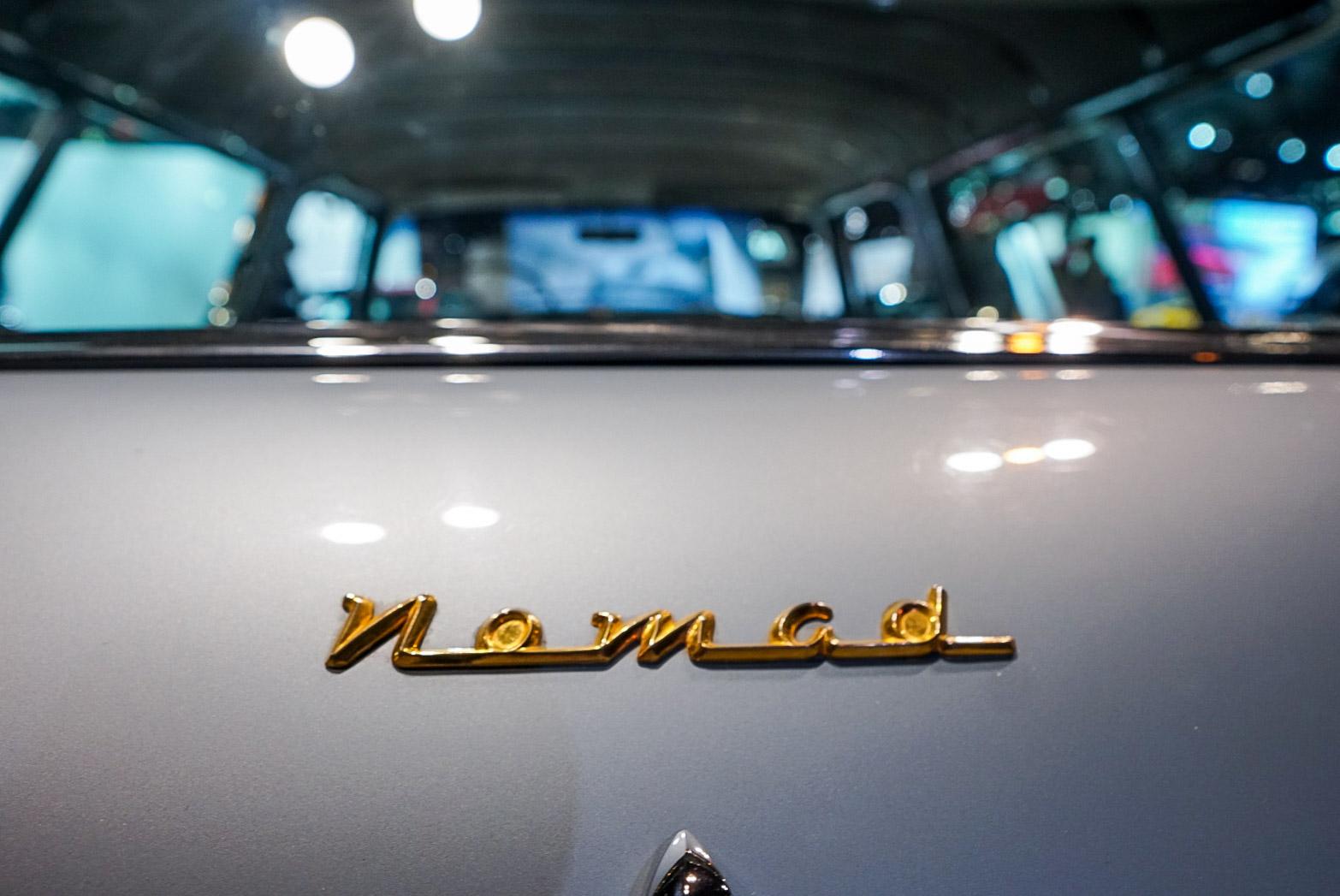 1954 Chevrolet Corvette Nomad replica rear badge