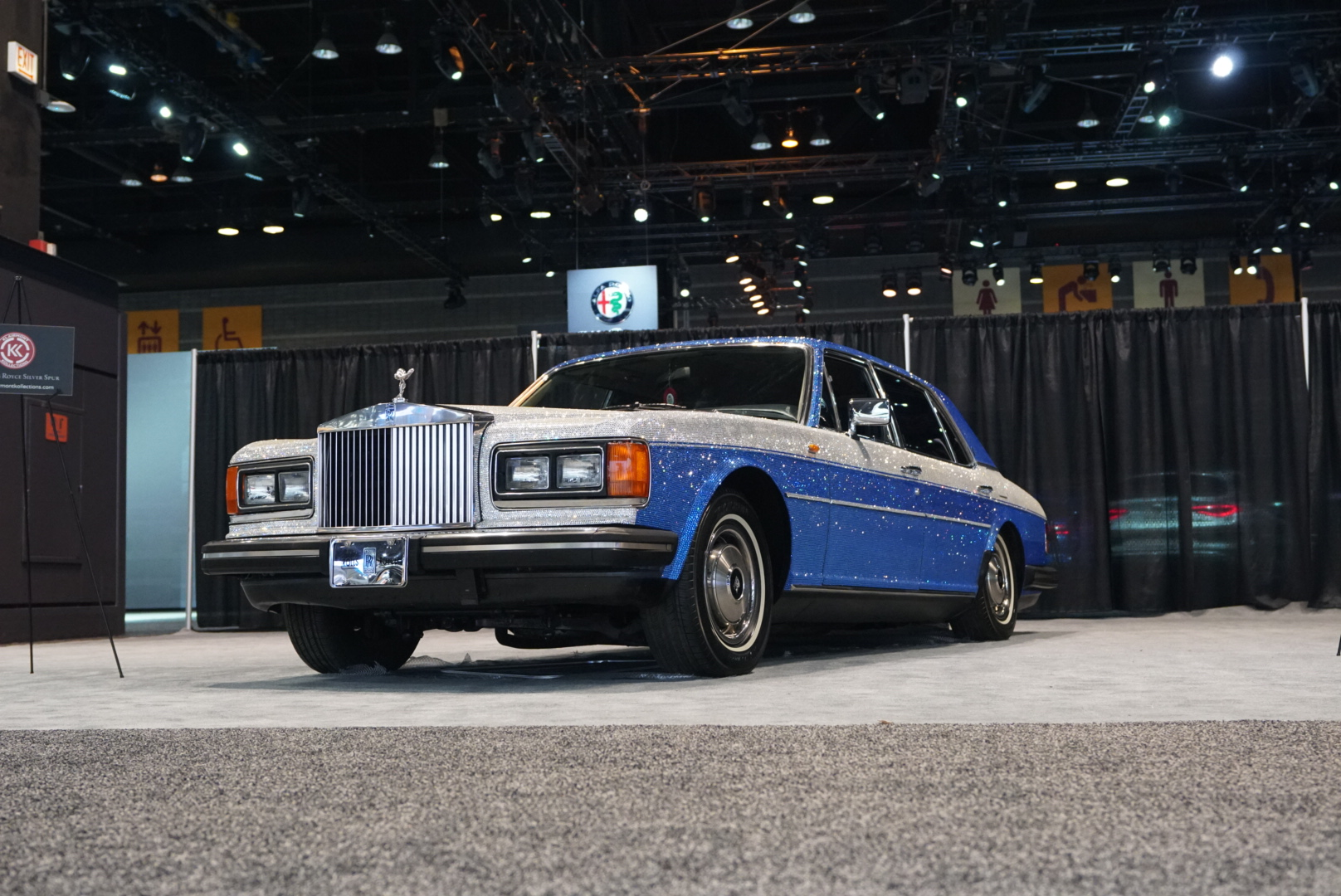 1983 Rolls-Royce Silver Spur front three-quarter