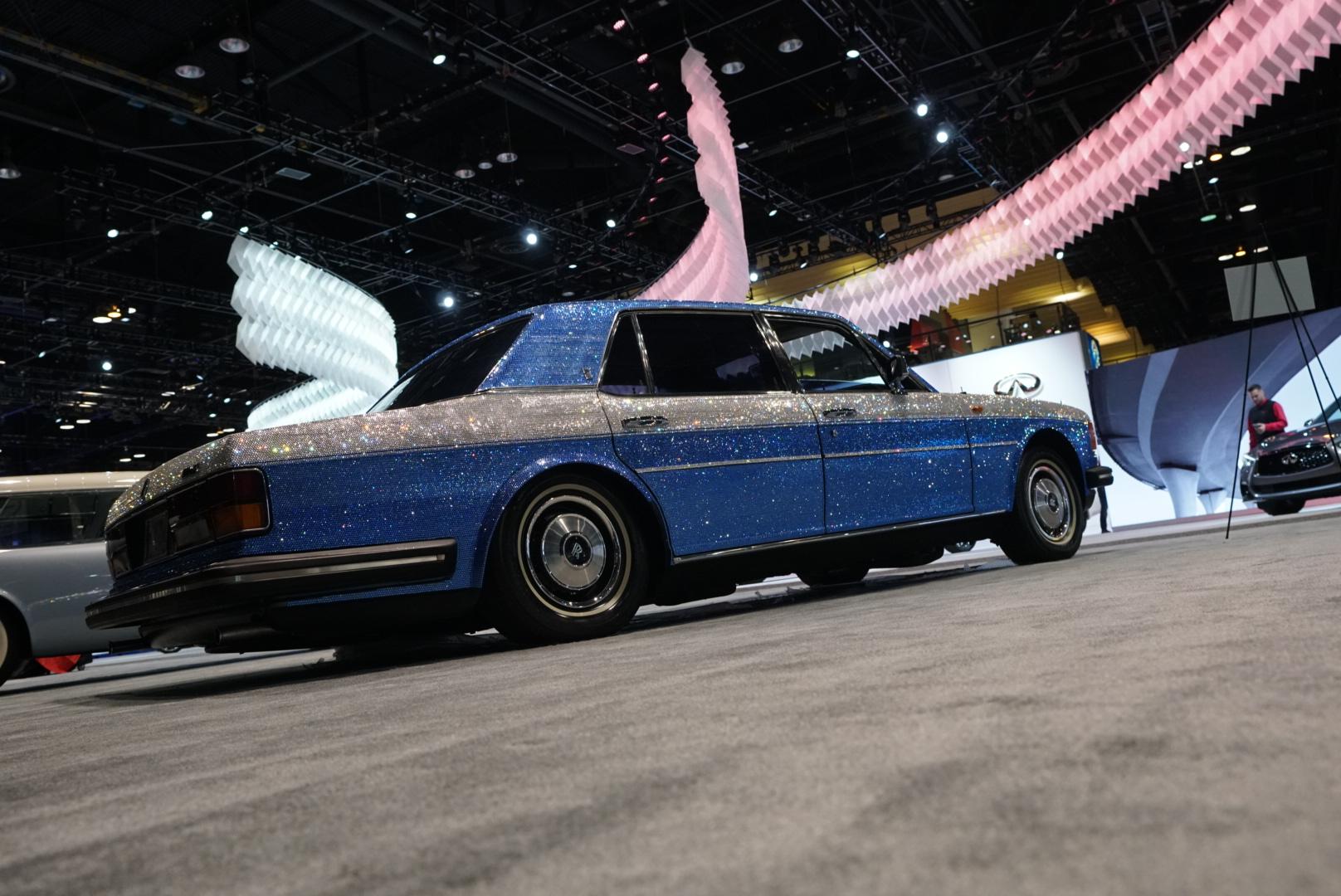 1983 Rolls-Royce Silver Spur rear three-quarter