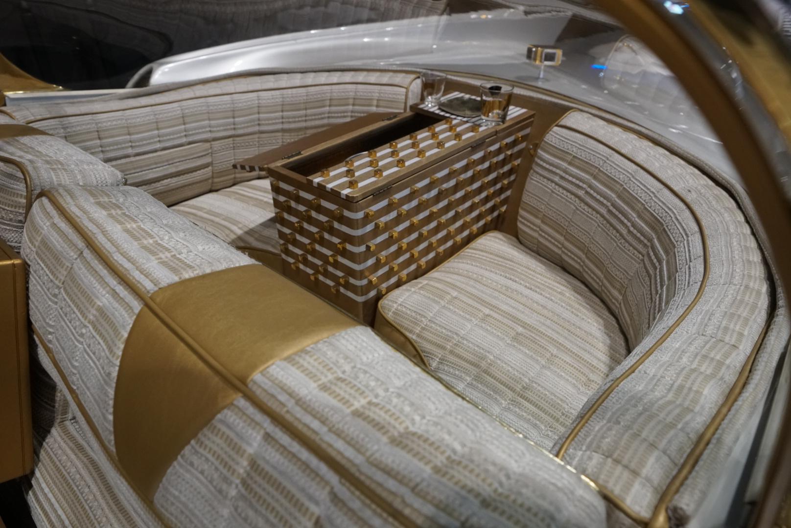 The Golden Sahara II rear interior