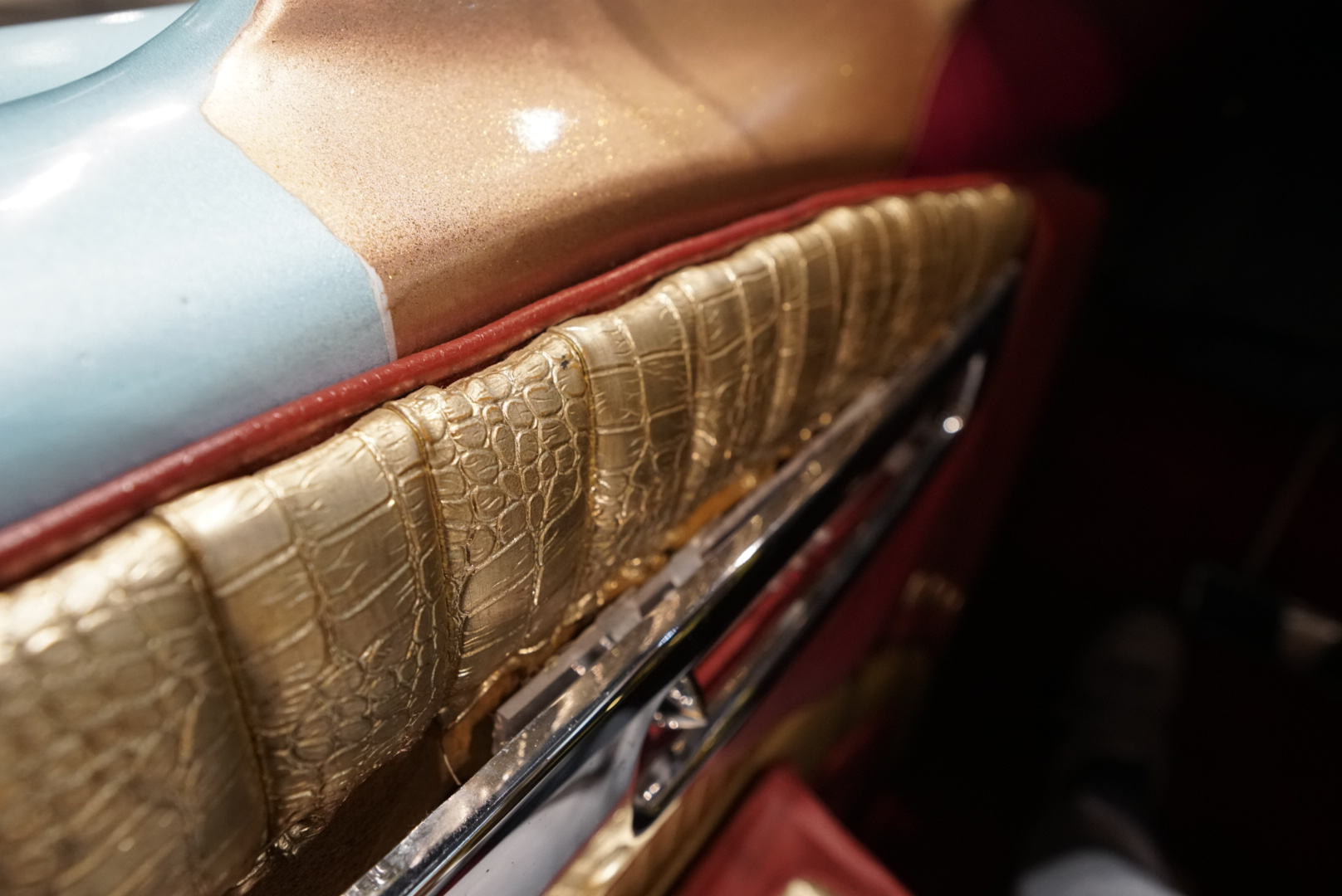 interior door panel closeup