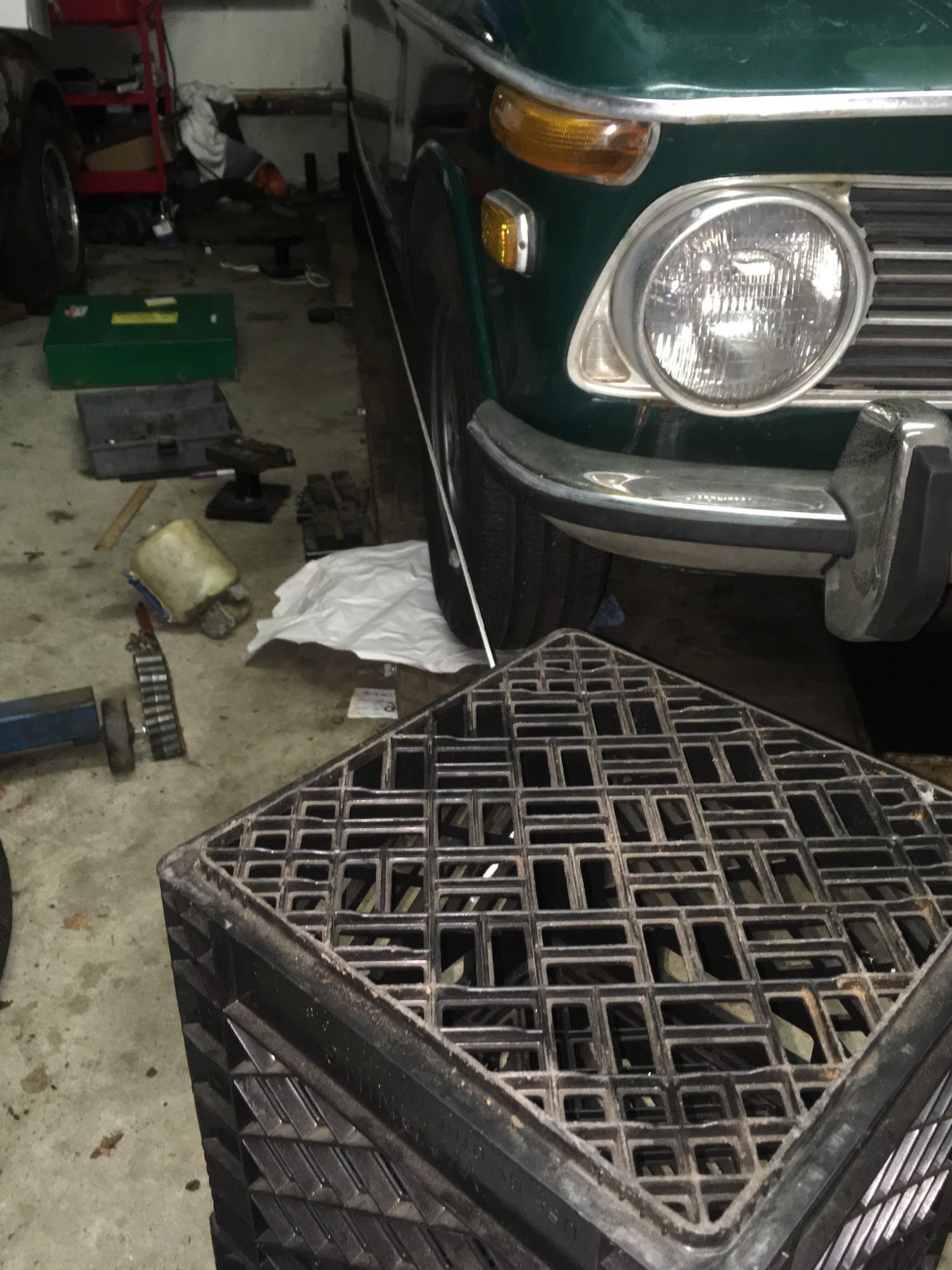 alignment toe-in on bmw 2002tii