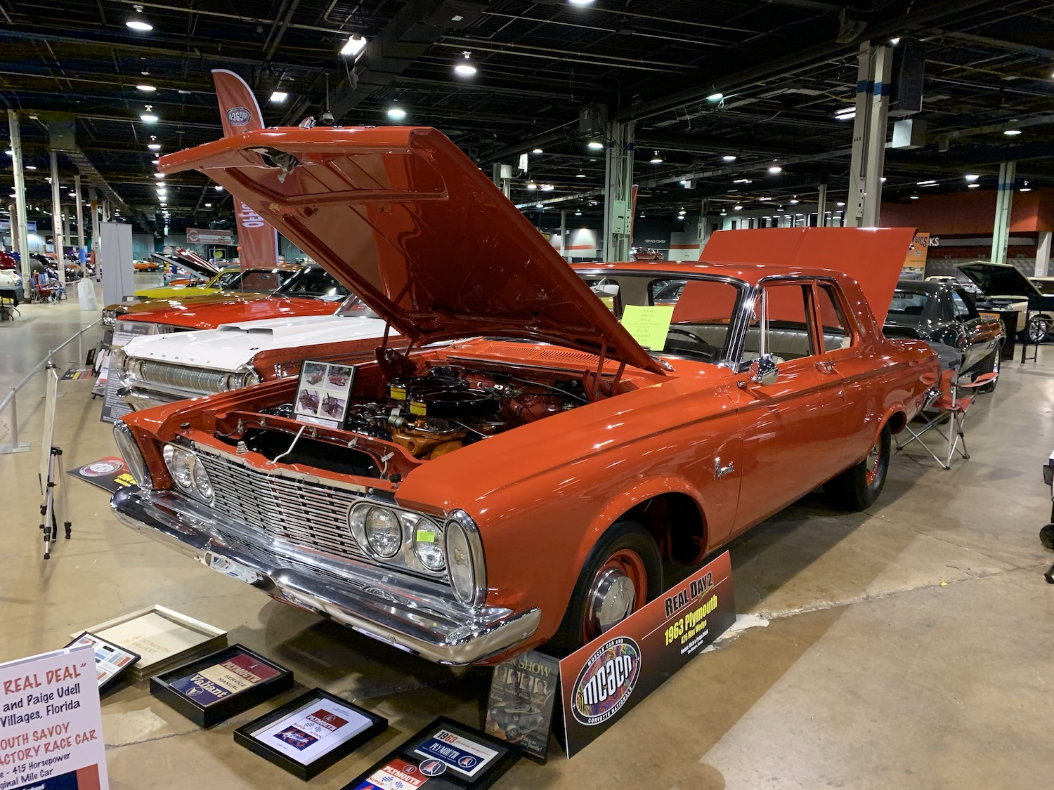 1963 Plymouth Savoy Max Wedge 426 front three-quarter