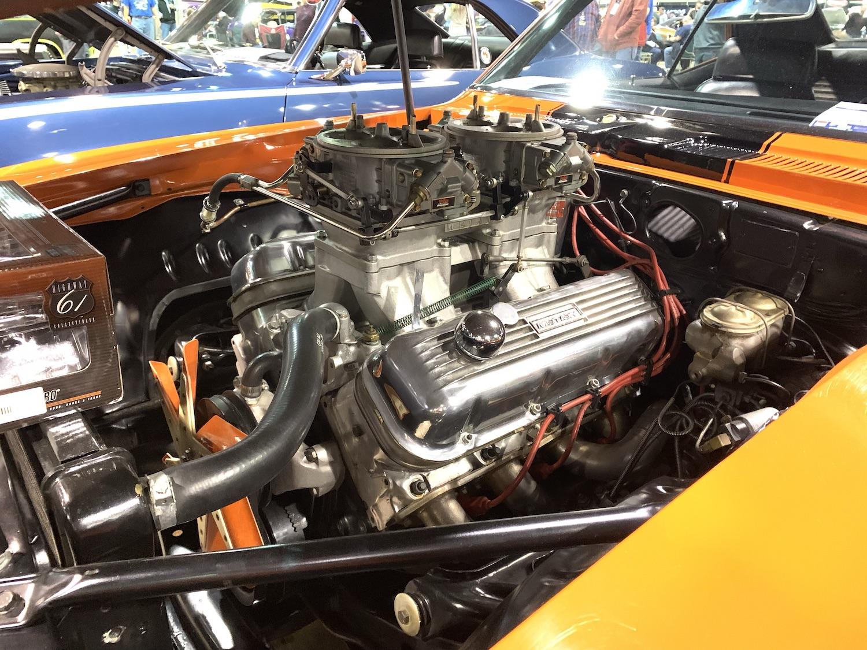 1969 Camaro ZLX 427 front three-quarter