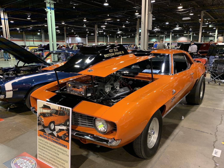 1969 Camaro Baldwin engine