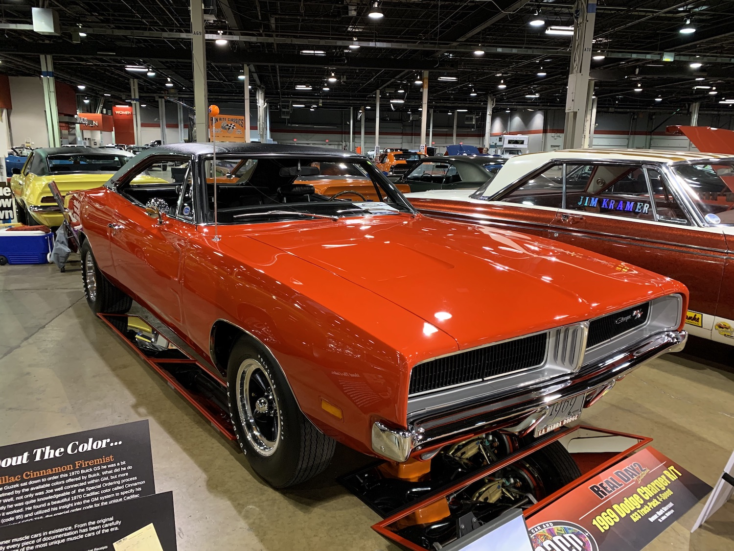 1969 Dodge Charger RT front three-quarter