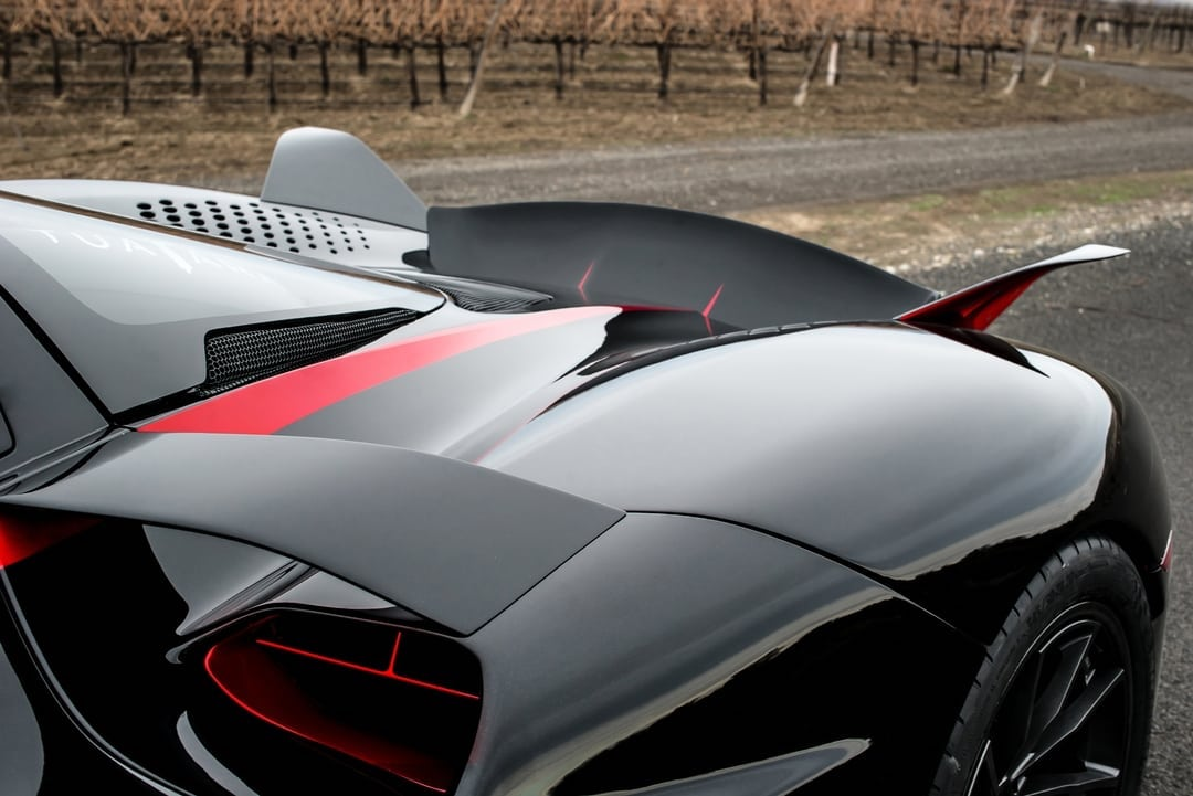 exterior rear aerodynamics