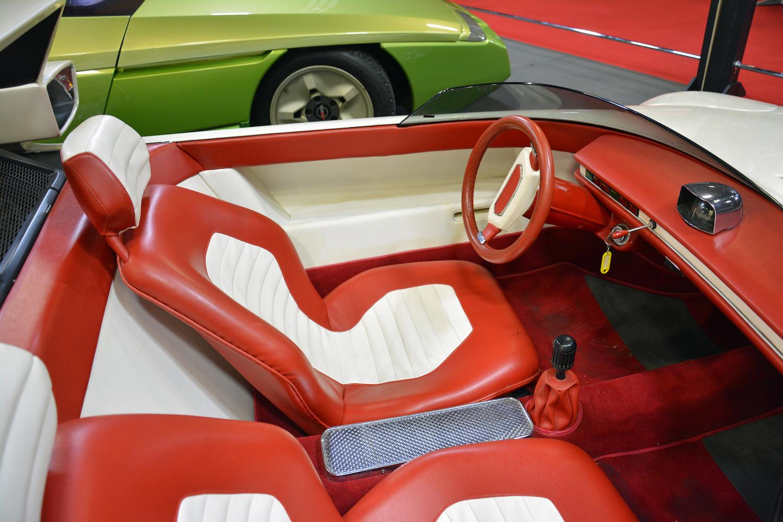 1969 Autobianchi Runabout interior