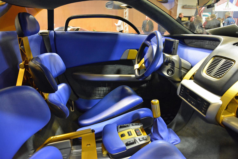 1998 BMW Pickster interior