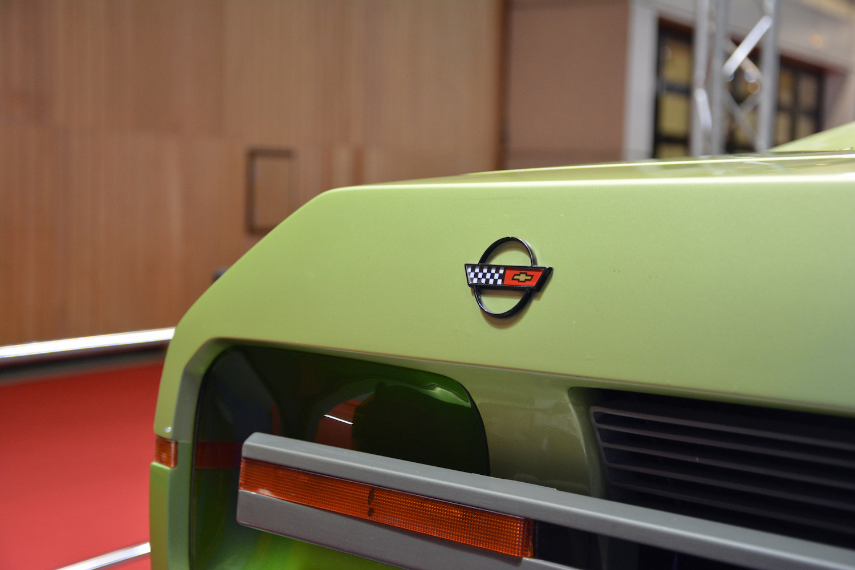 1984 Chevrolet Ramarro rear bumper badge