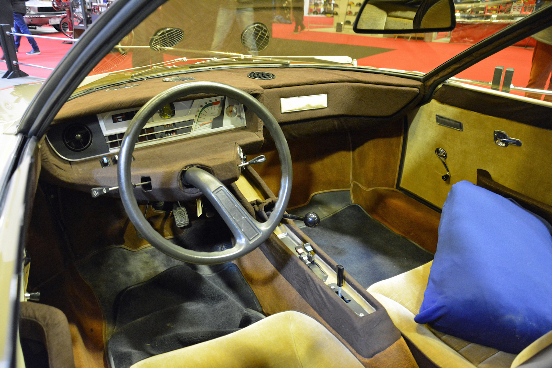 1972 Citroen GS Camargue front interior