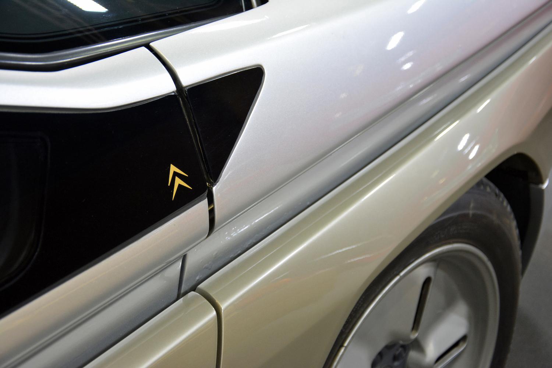 1986 Citroen Zabrus rear quarter panel closeup