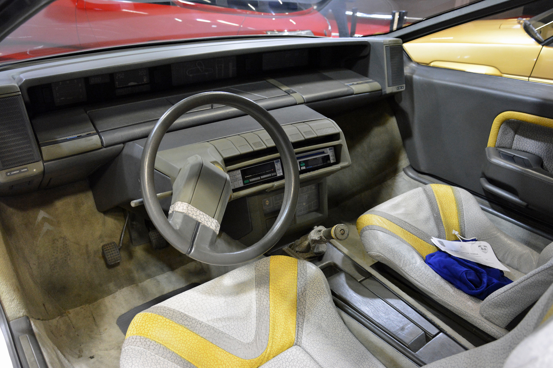 1986 Citroen Zabrus front interior