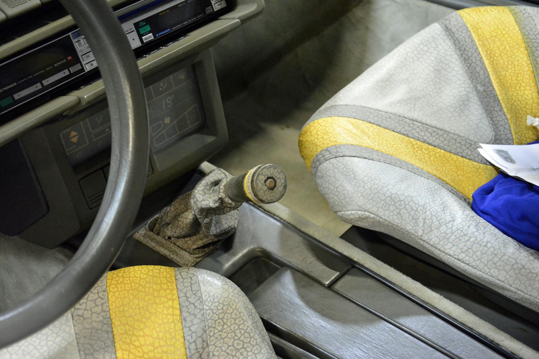 1986 Citroen Zabrus interior shifter