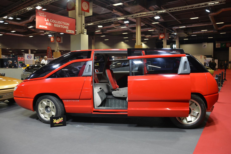 1988 Lamborghini Genesis side-view