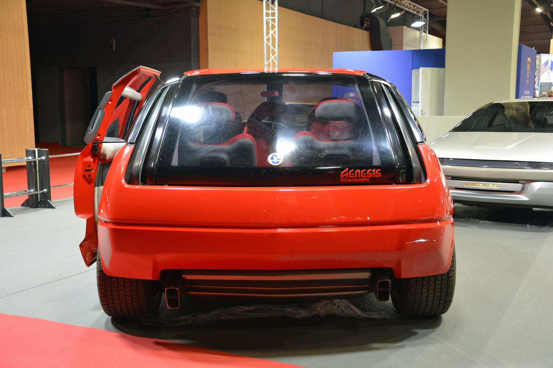 1988 Lamborghini Genesis rear