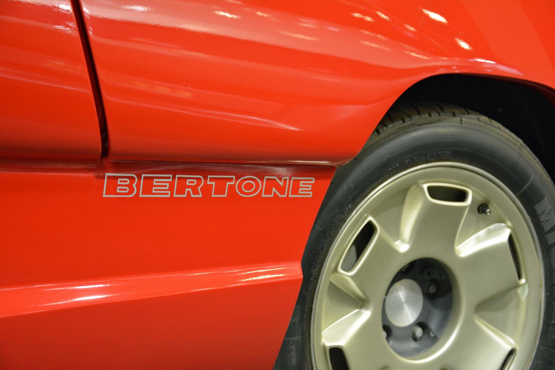 1988 Lamborghini Genesis bertone decal