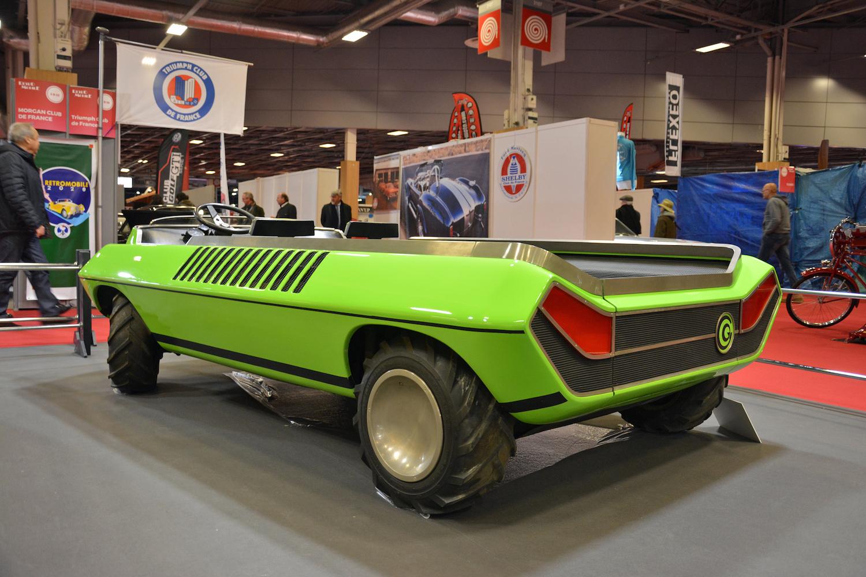 1972 Suzuki Go rear three-quarter