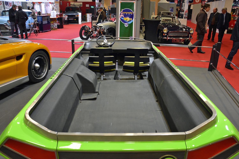 1972 Suzuki Go rear