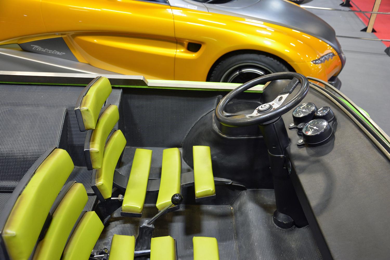 1972 Suzuki Go front interior