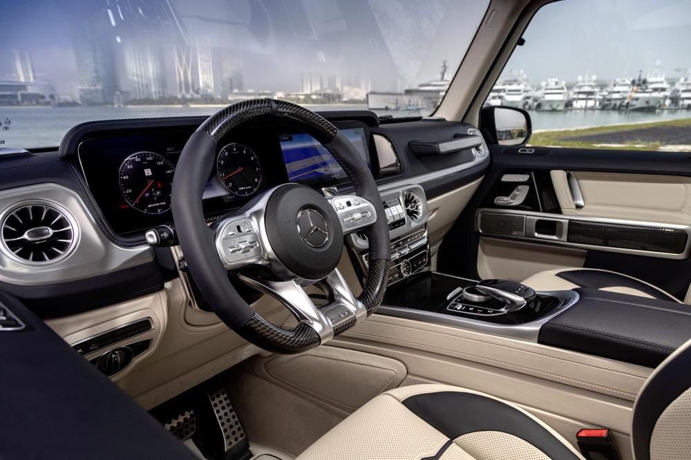 wagon interior front