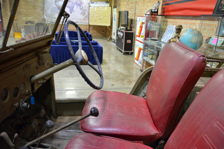 Toyota BJT interior seats