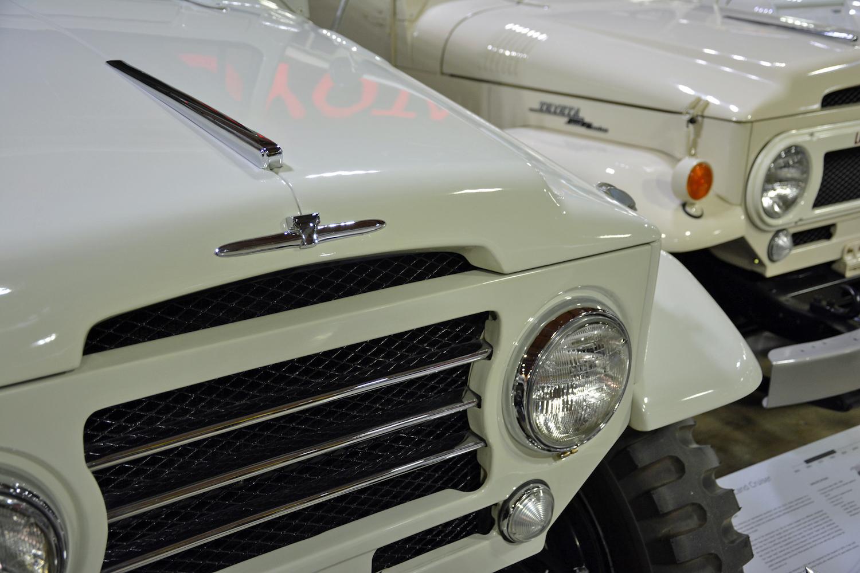 1960 Toyota FJ28L front closeup