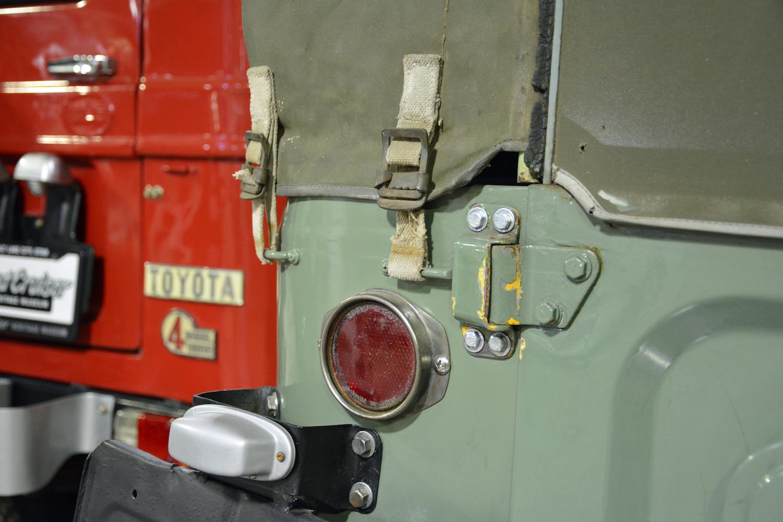 1963 Toyota FJ43 taillight closeup