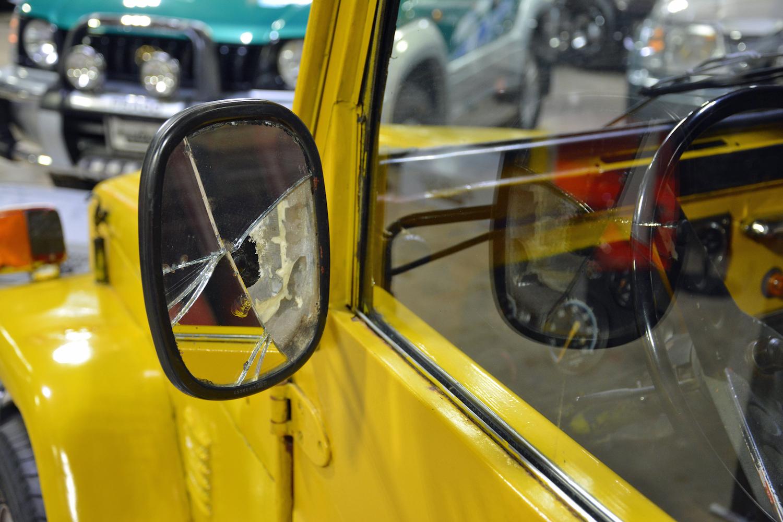 1982 Toyota Delta Mini Cruiser side-view mirror
