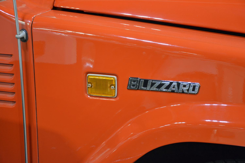 1982 Toyota LD10 Blizzard side badge