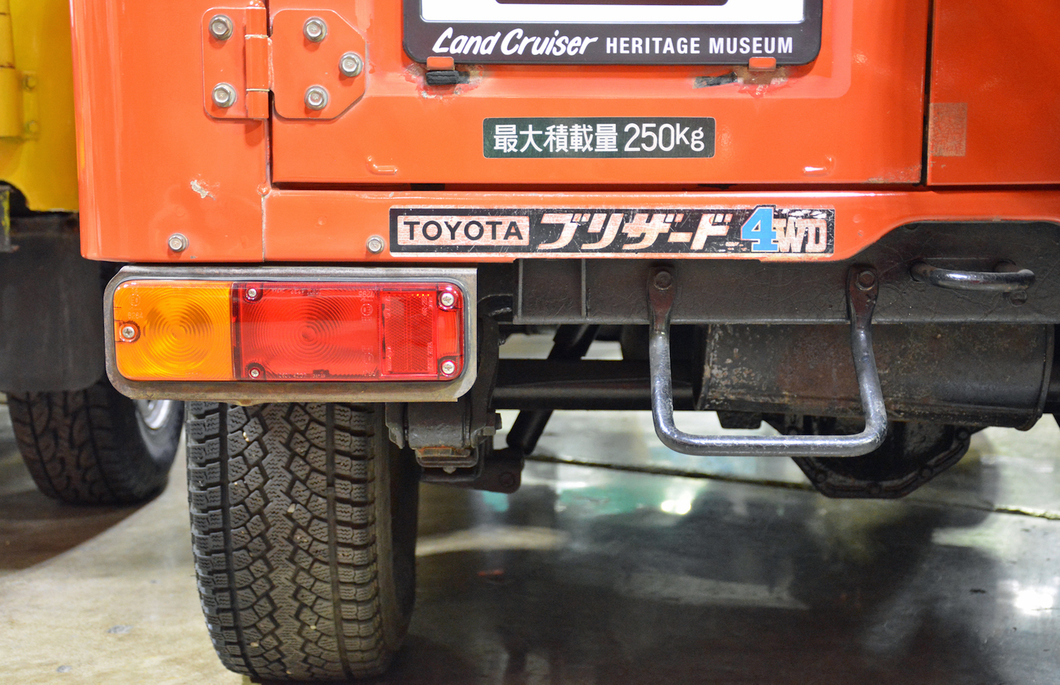 1982 Toyota LD10 Blizzard japanese decals