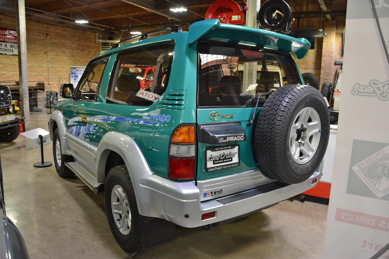 1996 Toyota VZJ90W rear three-quarter