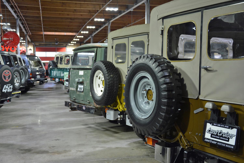 rear views of vintage toyotas
