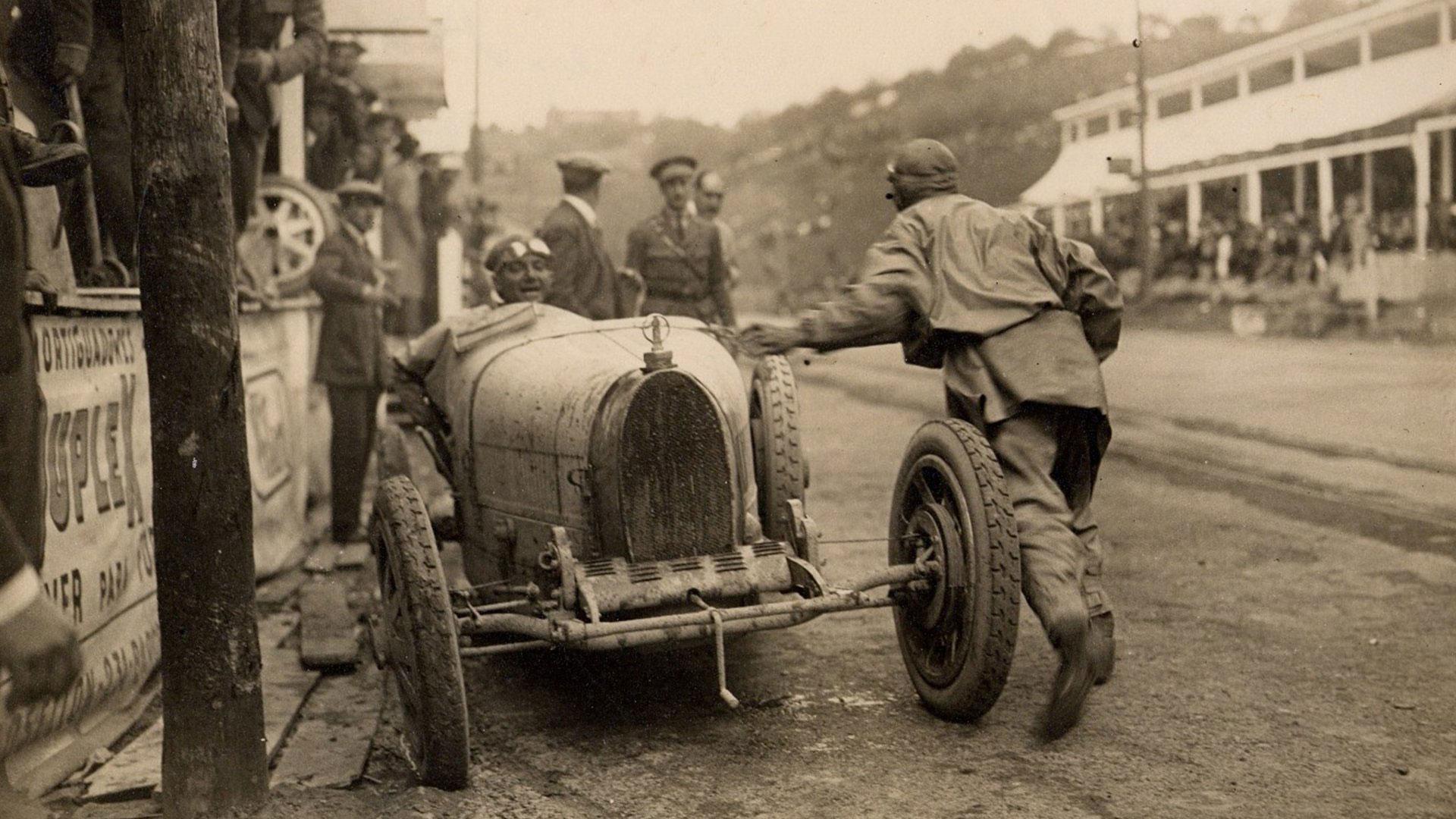 Bugatti Type 35 in Spain 1924-25