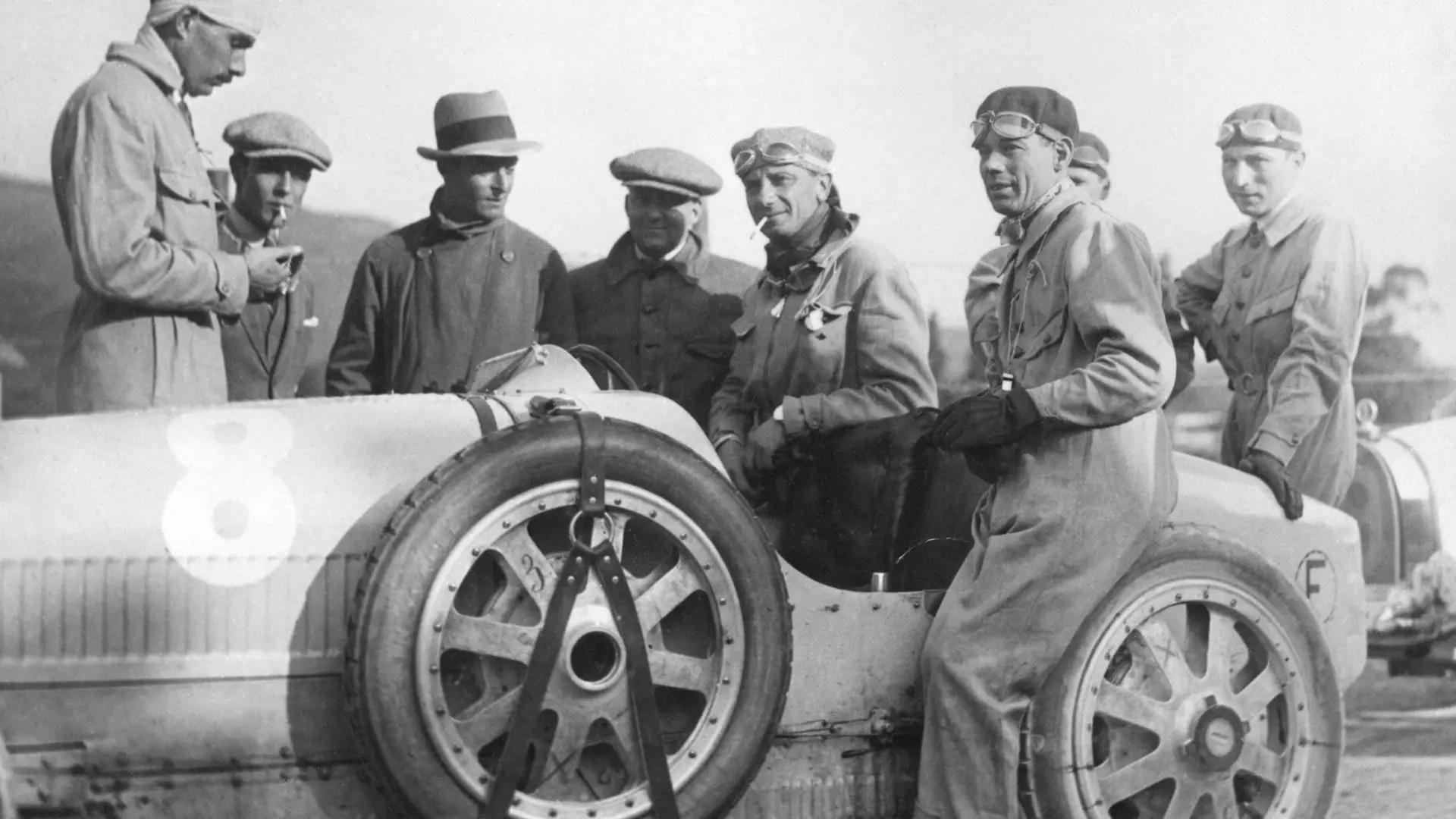 Bugatti Type 35 wins the Targa Florio 1925