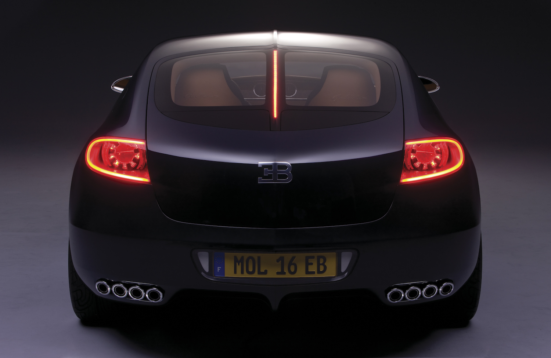 Bugatti 16C Galibier concept rear
