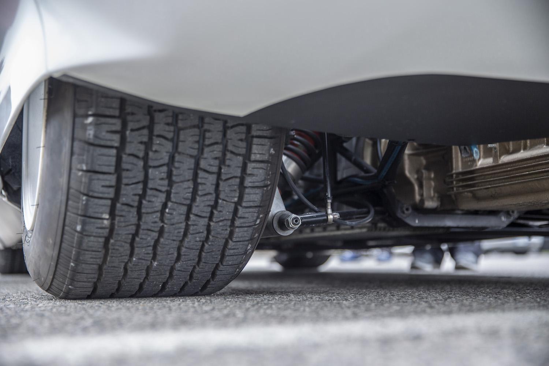 rear tire closeup