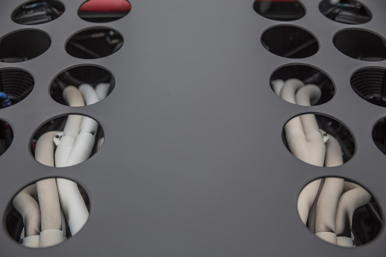 ferrari modulo rear engine cover