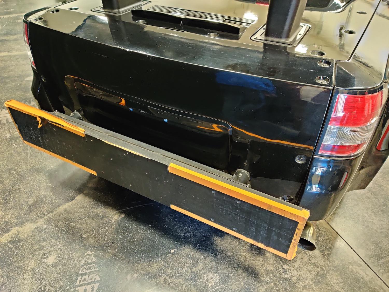 corvette blackjack mule rear