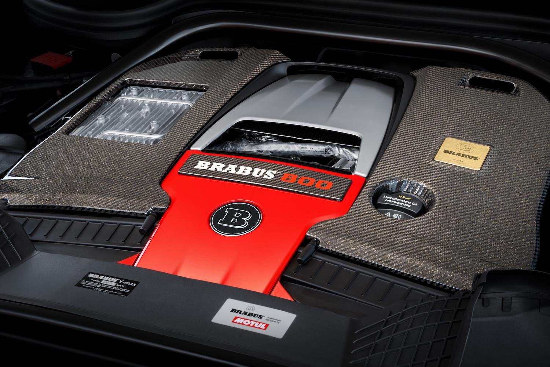 Brabus 800 Adventure XLP engine