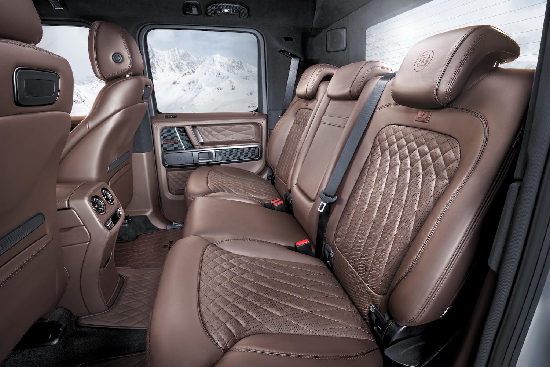 Brabus 800 Adventure XLP rear seat