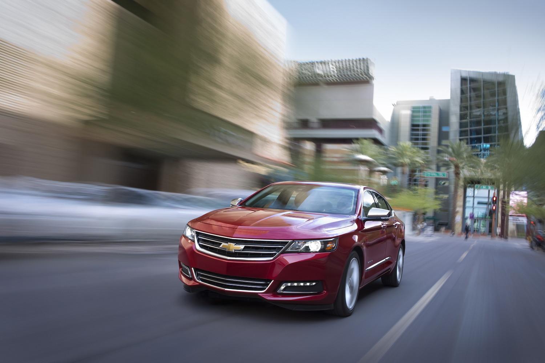 chevy impala ltz front three-quarter action