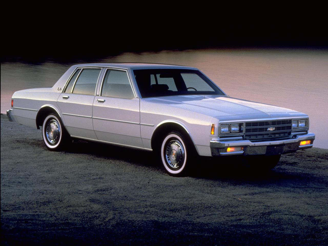 chevy impala sedan front three-quarter